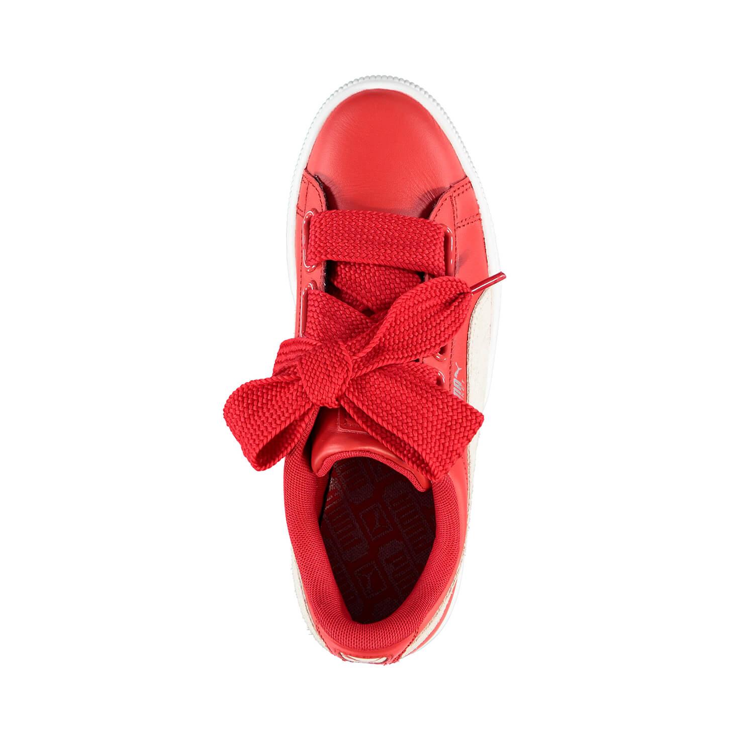 Puma Basket Heart Kadın Kırmızı Sneaker