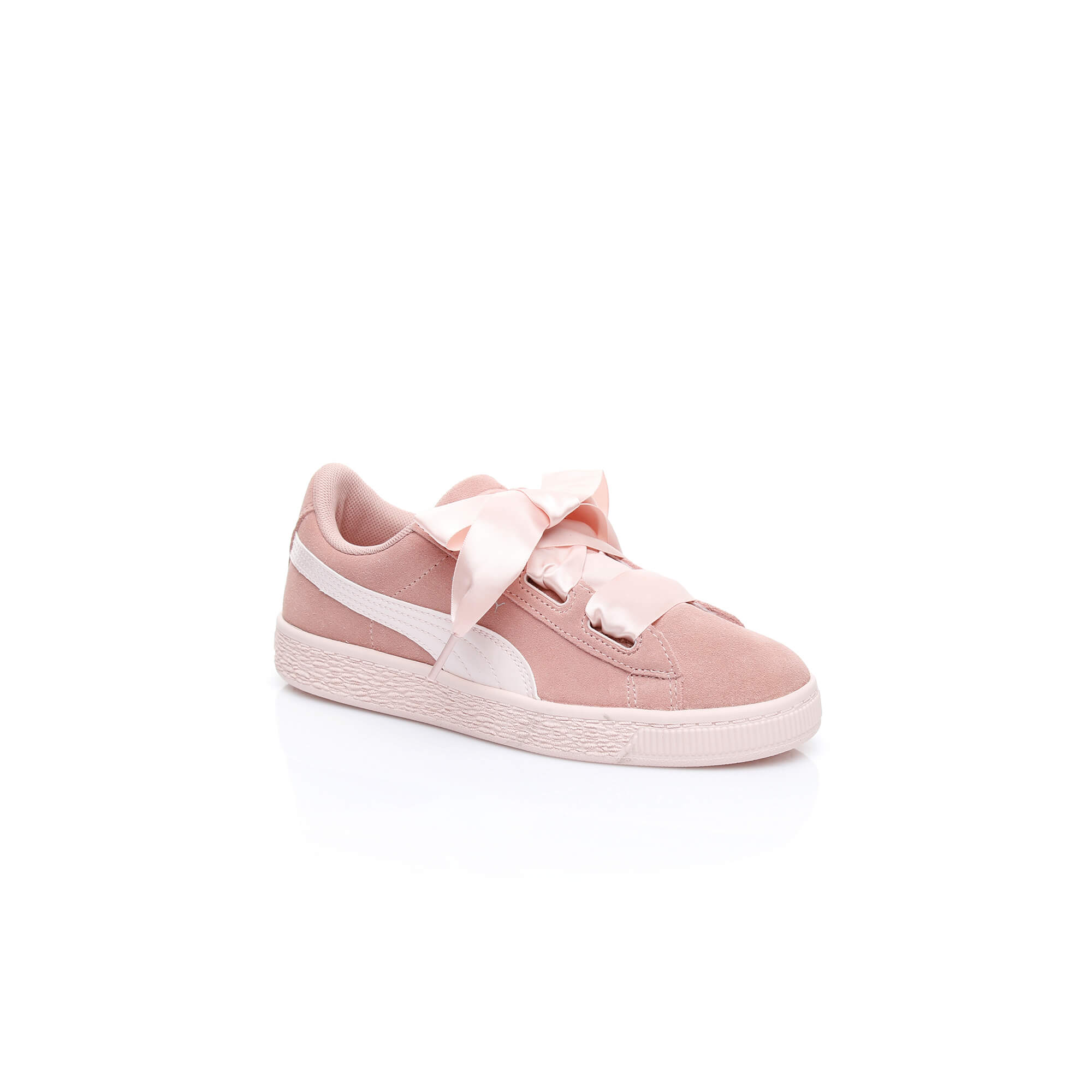 Puma Heart Jewel Çocuk Pembe Sneaker