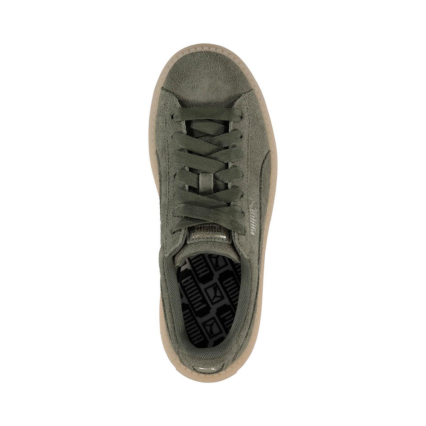 Puma Platform Trace Kadın Yeşil Sneaker