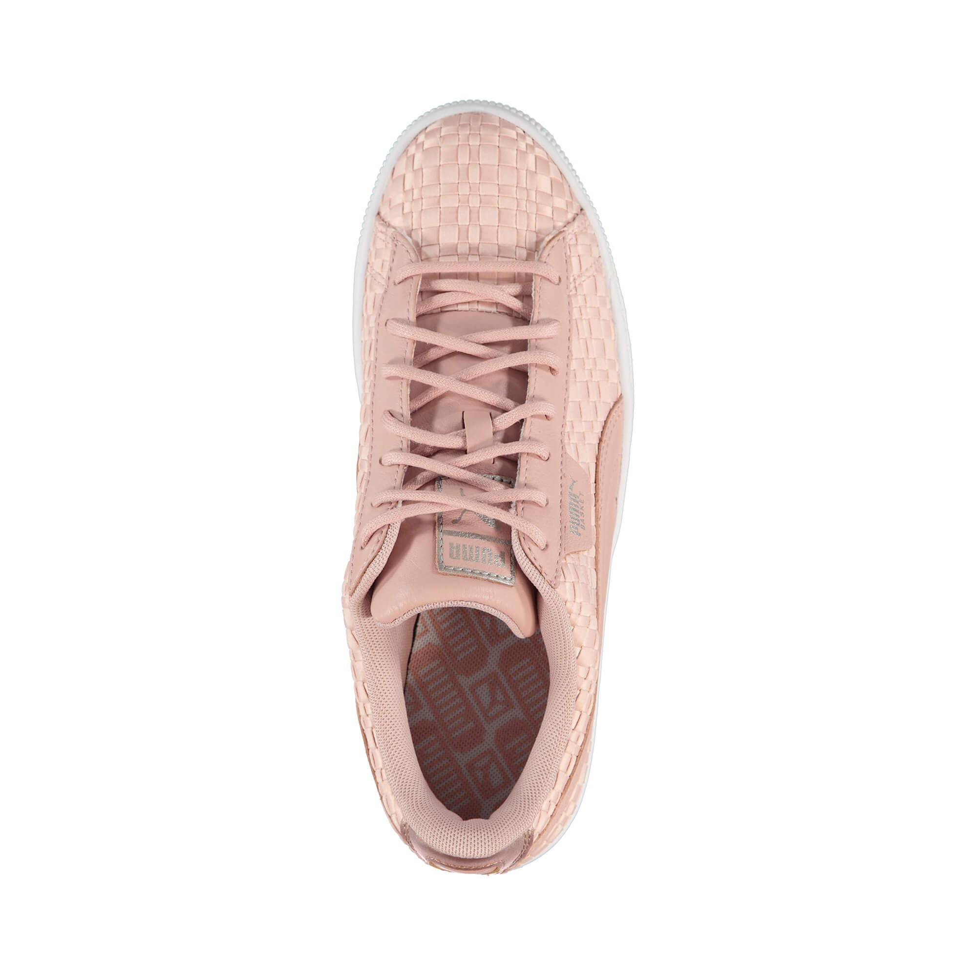 Puma Basket Satin EP Kadın Pembe Sneaker