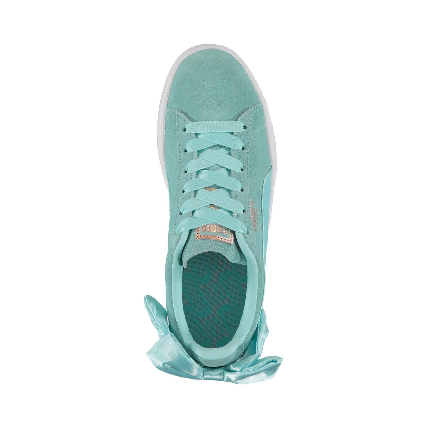 Puma Suede Bow Kadın Mavi Spor Ayakkabı