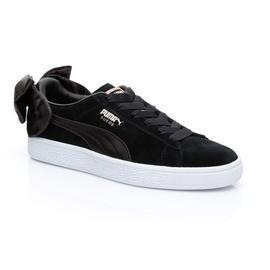 Puma Suede Bow Kadın Siyah Spor Ayakkabı