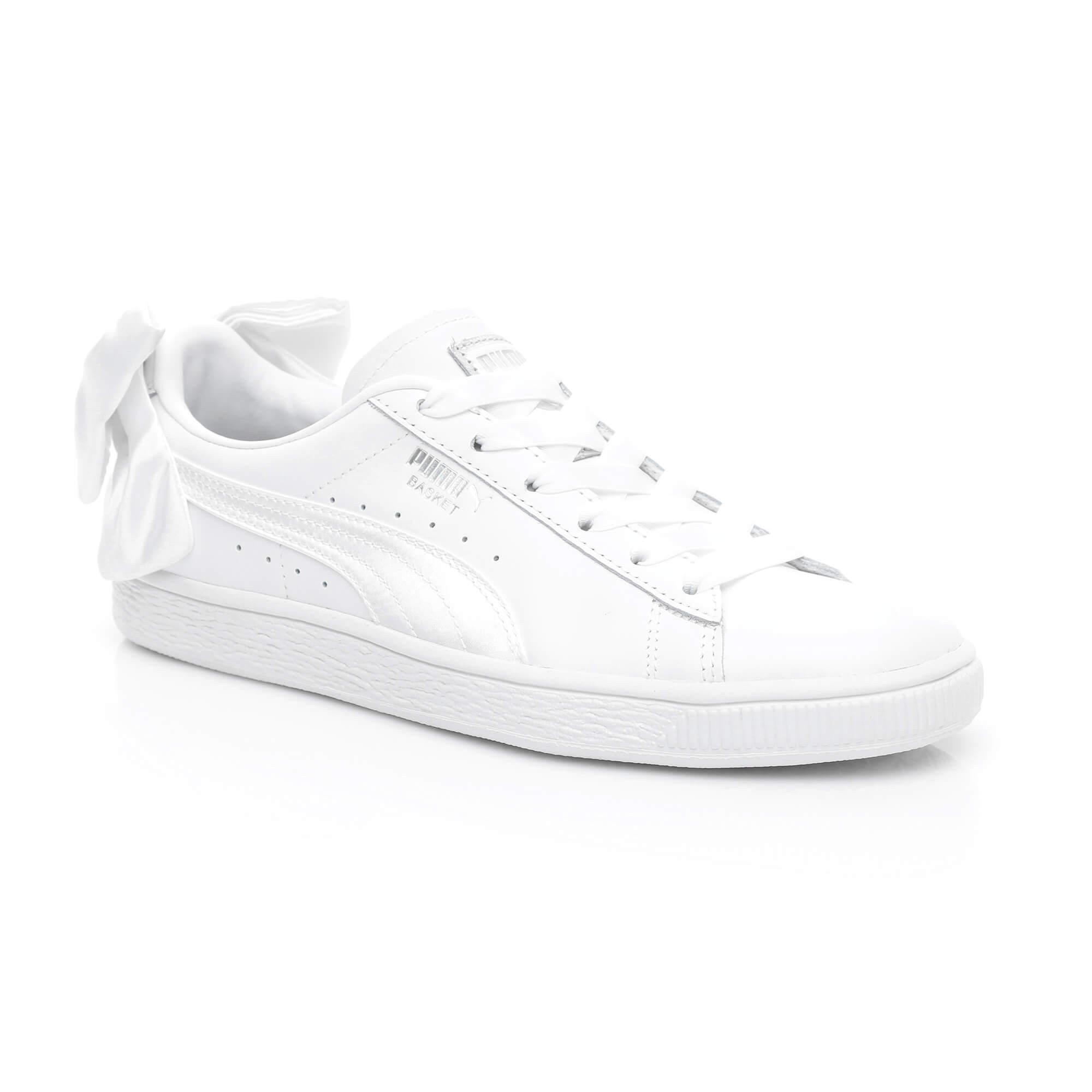 Puma Basket Bow Kadın Beyaz Sneaker