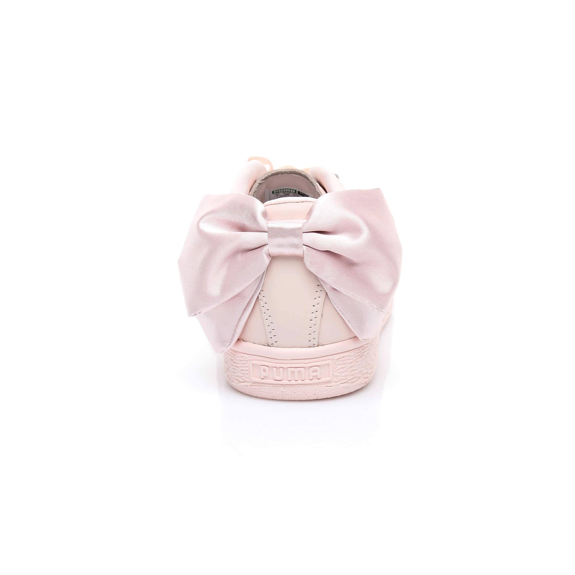 Puma Basket Bow Kadın Pembe Sneaker