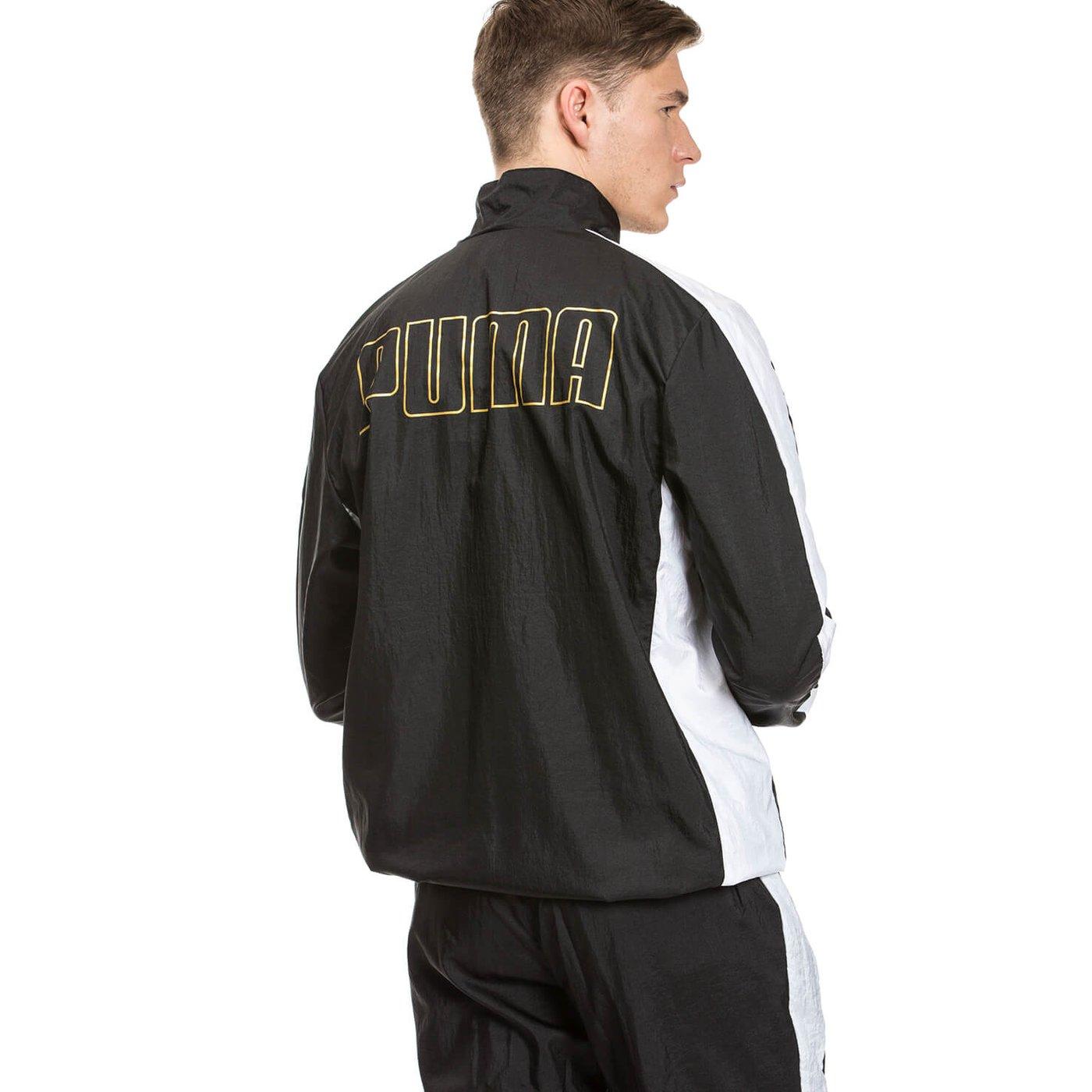Puma T7 Bboy Track Erkek Siyah Ceket