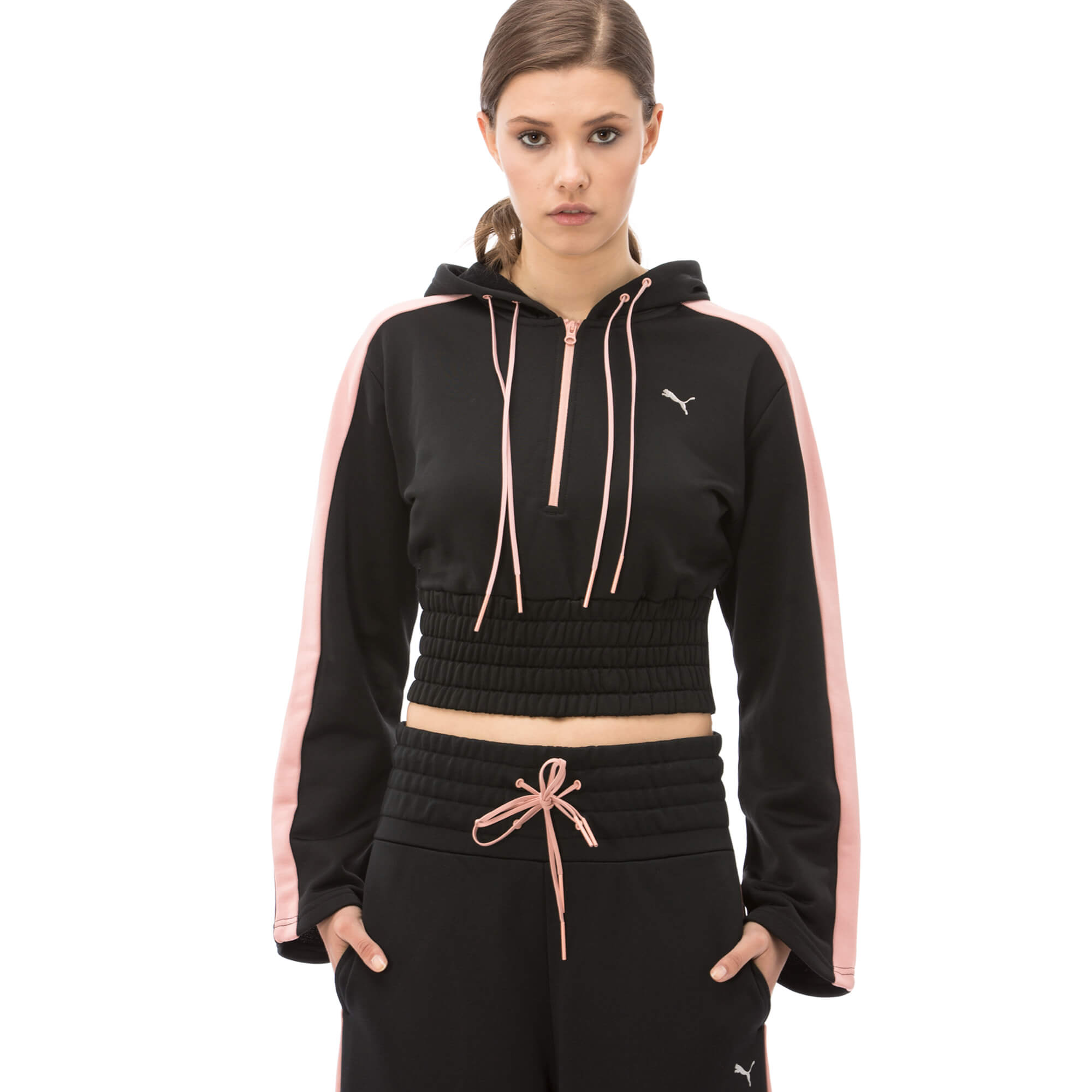Puma En Pointe Savannah Kadın Siyah Sweatshirt