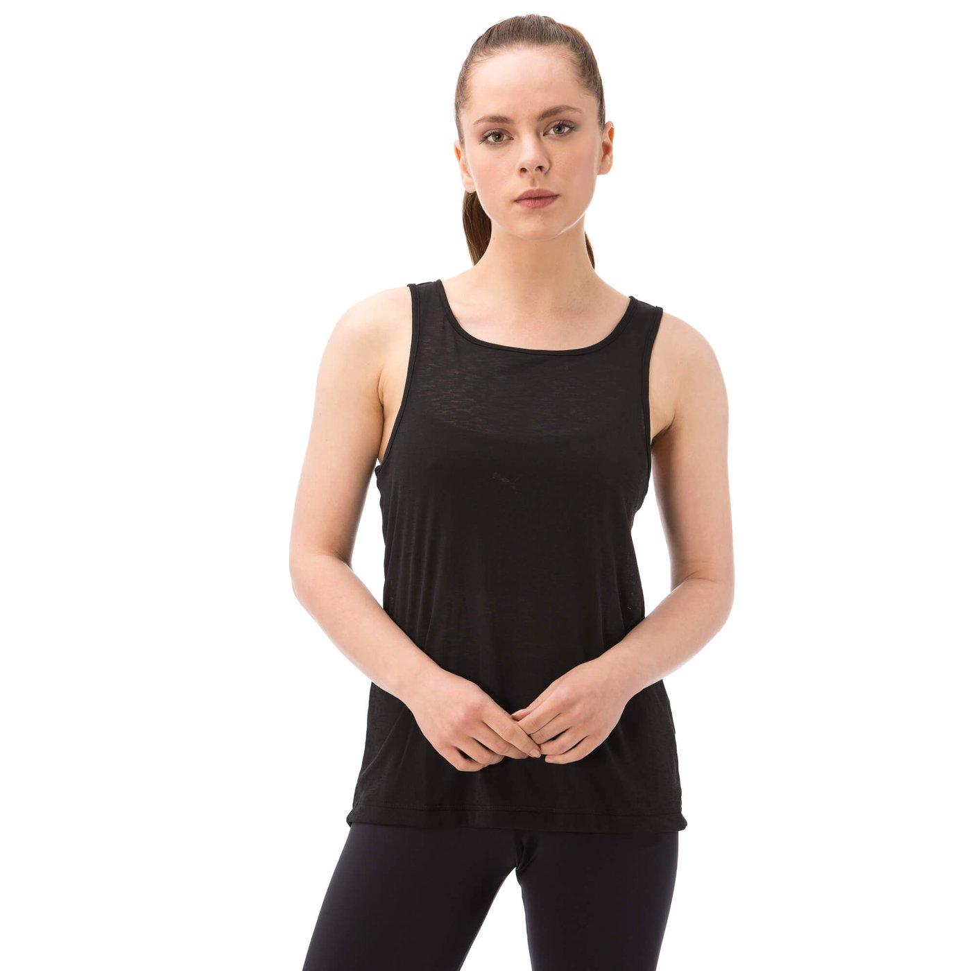 Puma Layer Kadın Siyah Tshirt