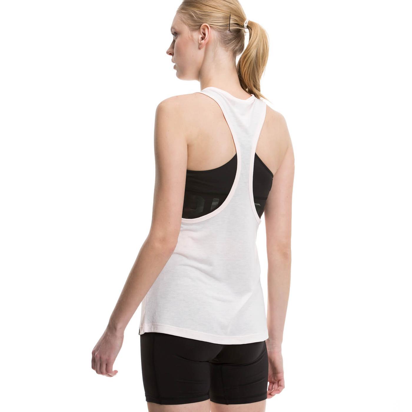 Puma Classics Logo Kadın Beyaz Tshirt