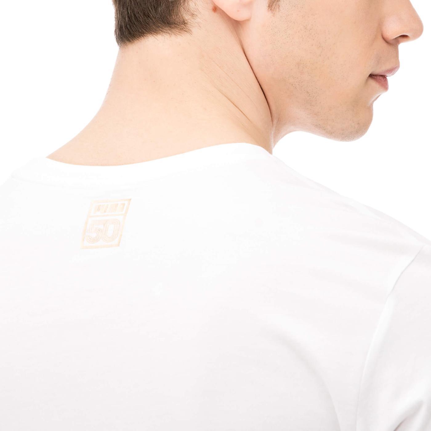 Puma Breakdance Erkek Beyaz Tshirt