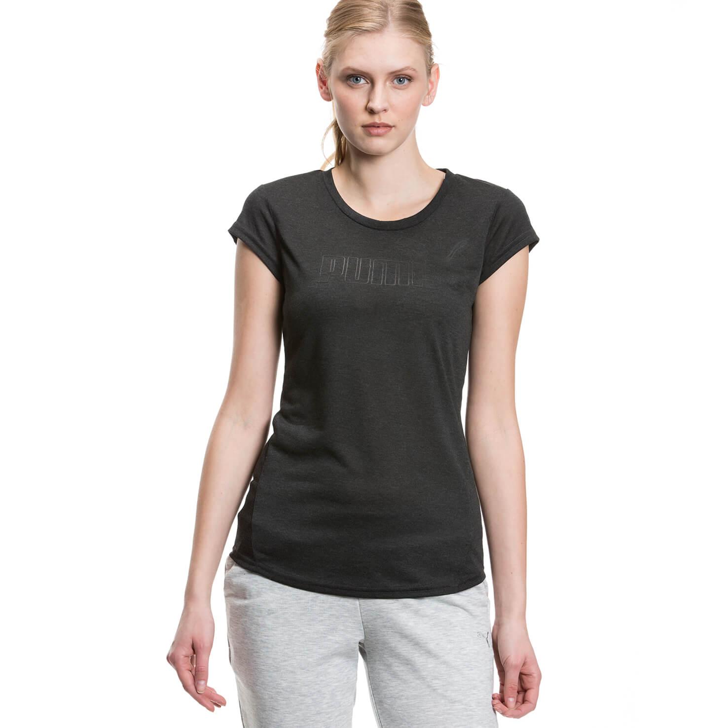 Puma Active Essential Kadın Siyah Tshirt