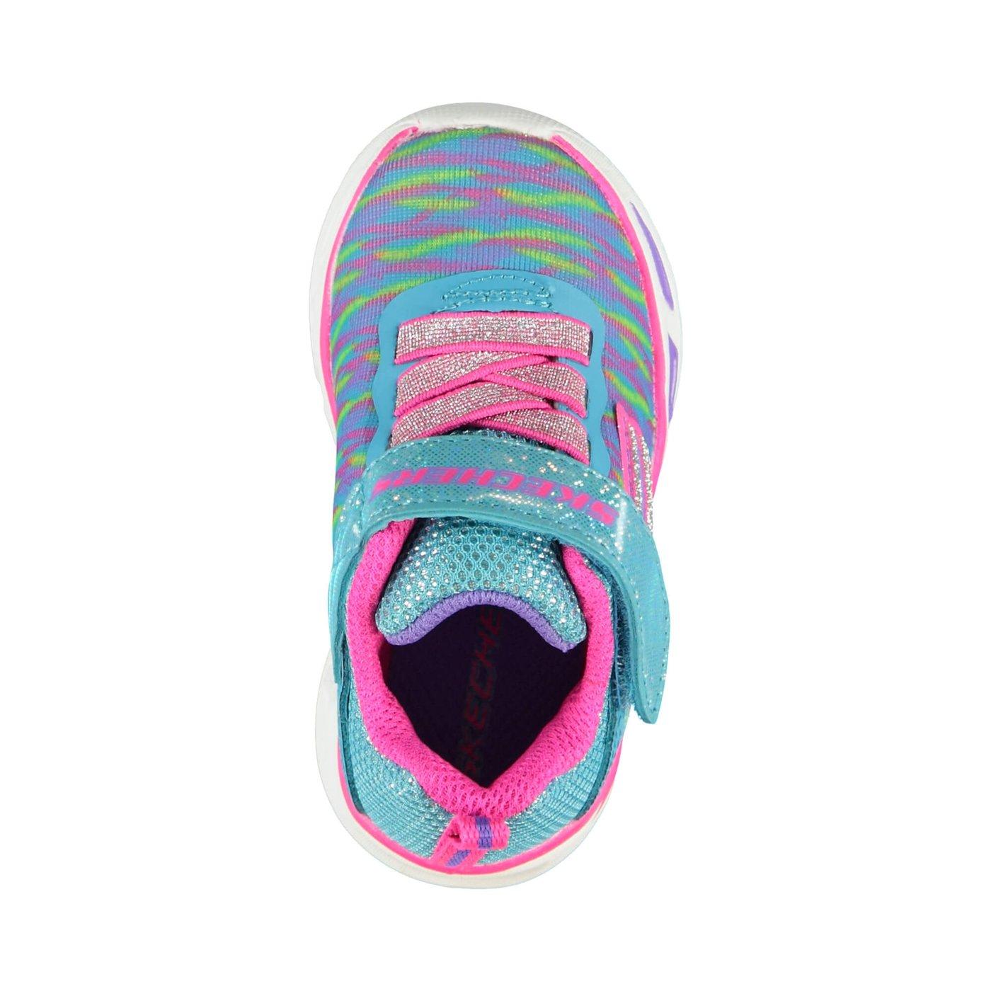 Skechers Litebeams Dance N'Glow Çocuk Renkli Spor Ayakkabı