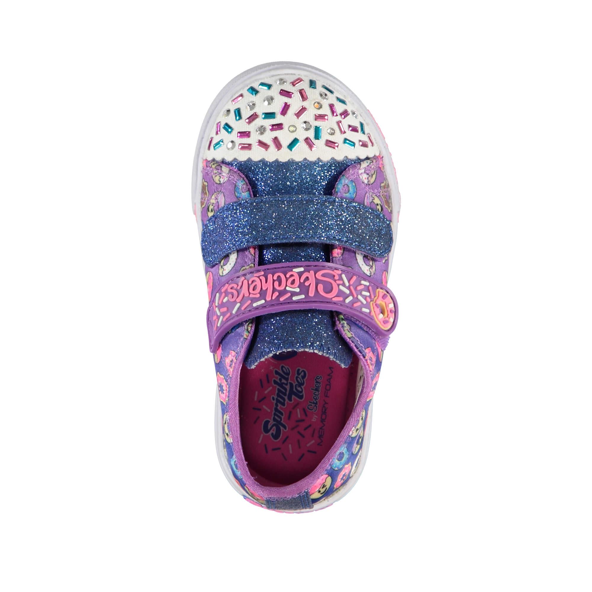 Skechers Skippers-Sweet Something Çocuk Renkli Işıklı Spor Ayakkabı