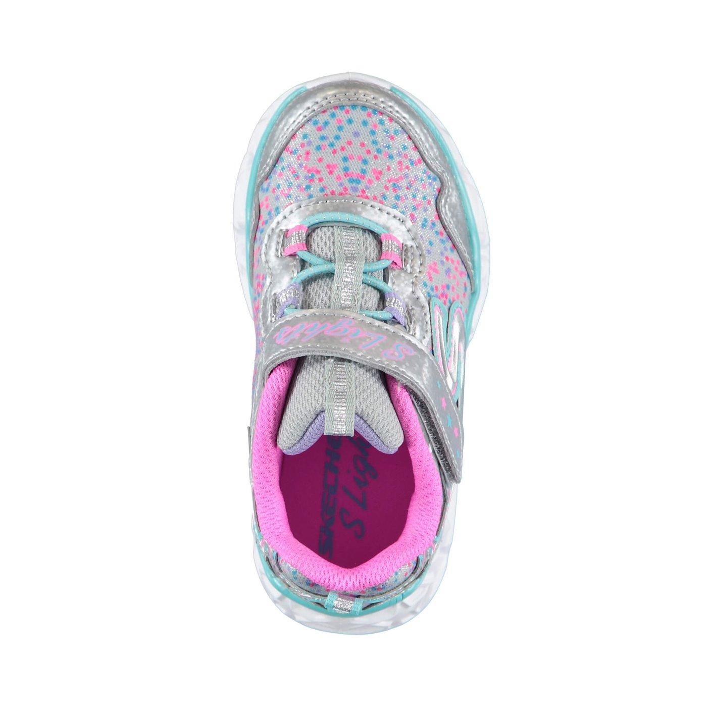Skechers Galaxy Çocuk Gümüş Spor Ayakkabı