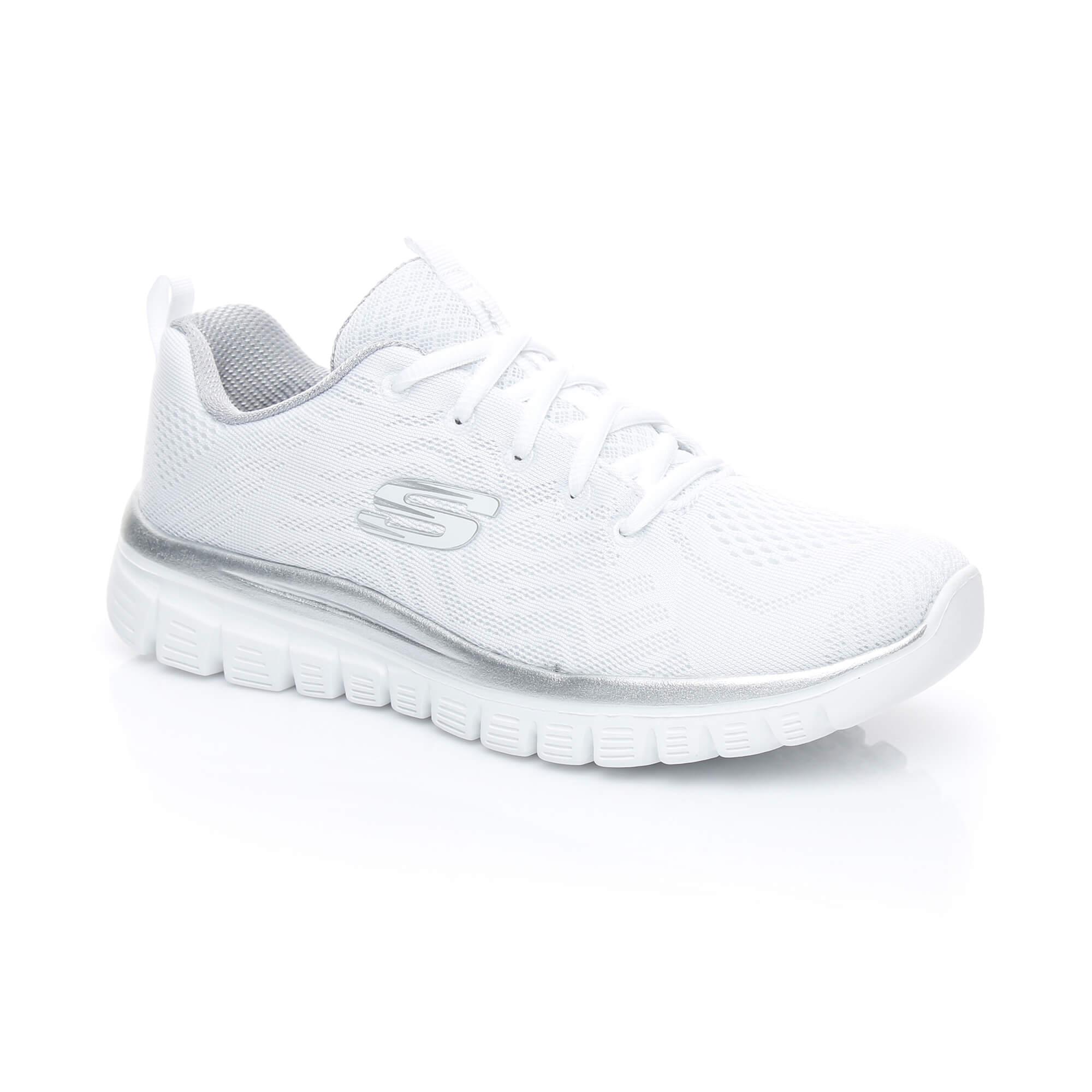 Skechers Graceful-Get Connected Kadın Beyaz Sneaker