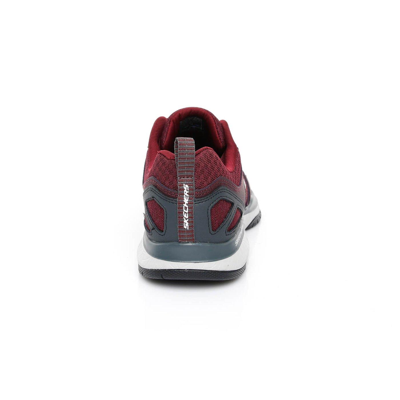Skechers Burst TR - Halpert Erkek Bordo Sneaker