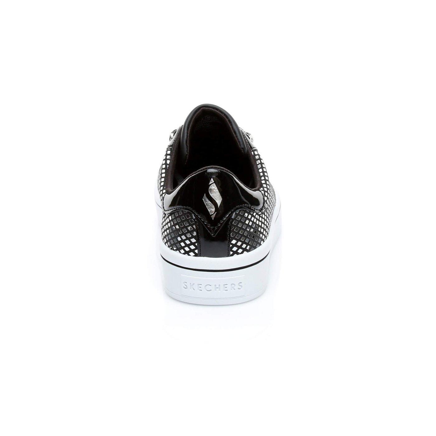 Skechers Hi-Lite-Shiny Star Kadın Siyah Sneaker