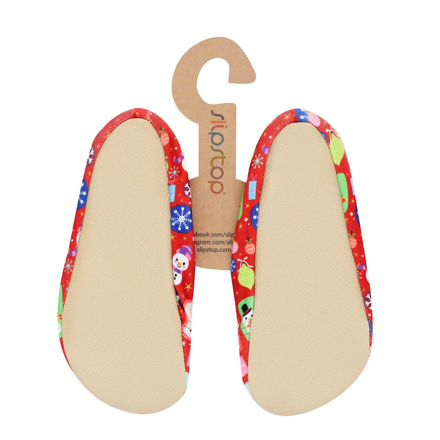 Slipstop Christmas Kırmızı Çocuk Havuz Ayakkabısı