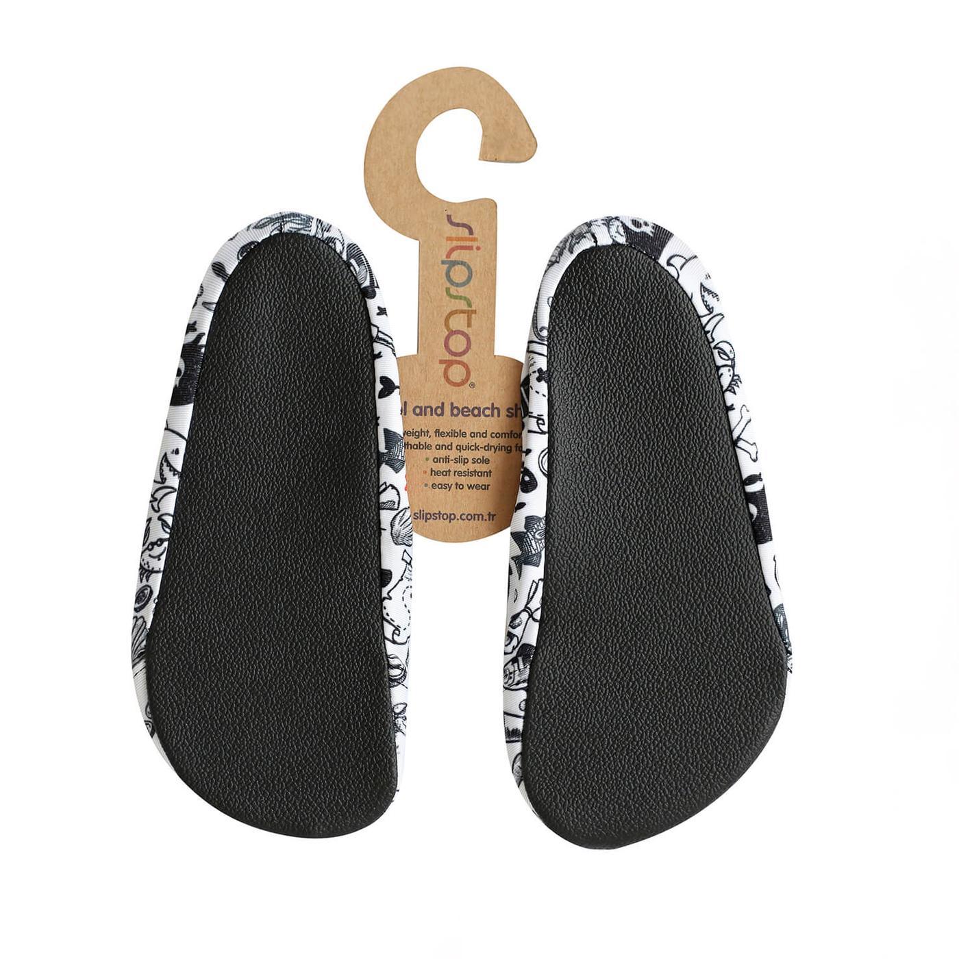 Slipstop Carabien Beyaz Çocuk Havuz Ayakkabısı