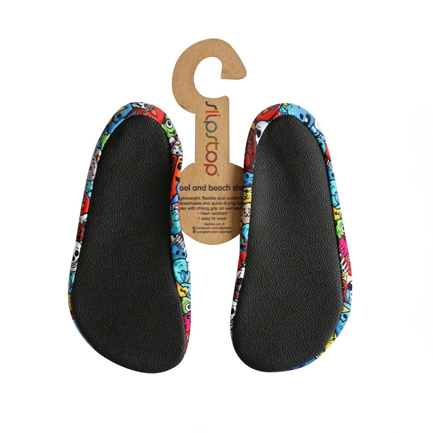 Slipstop Pudding Renkli Çocuk Havuz Ayakkabısı