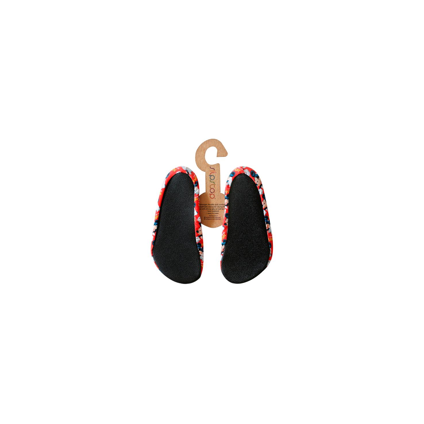 Slipstop Mickey Fun Kırmızı Çocuk Havuz Ayakkabısı