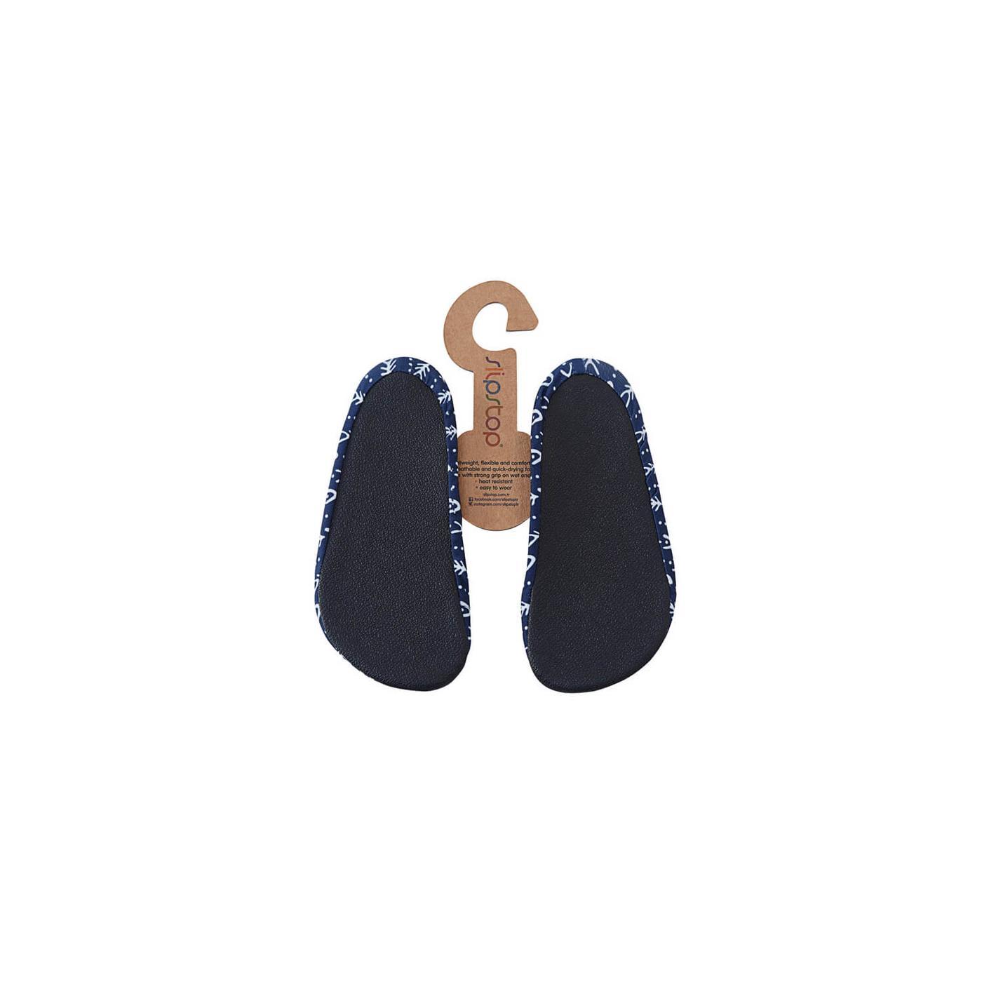 Slipstop Fishbone Çocuk Lacivert Havuz Ayakkabısı
