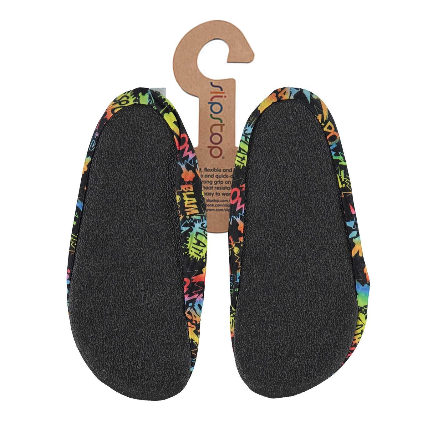 Slipstop Big Bang Çocuk Renkli Havuz Ayakkabısı