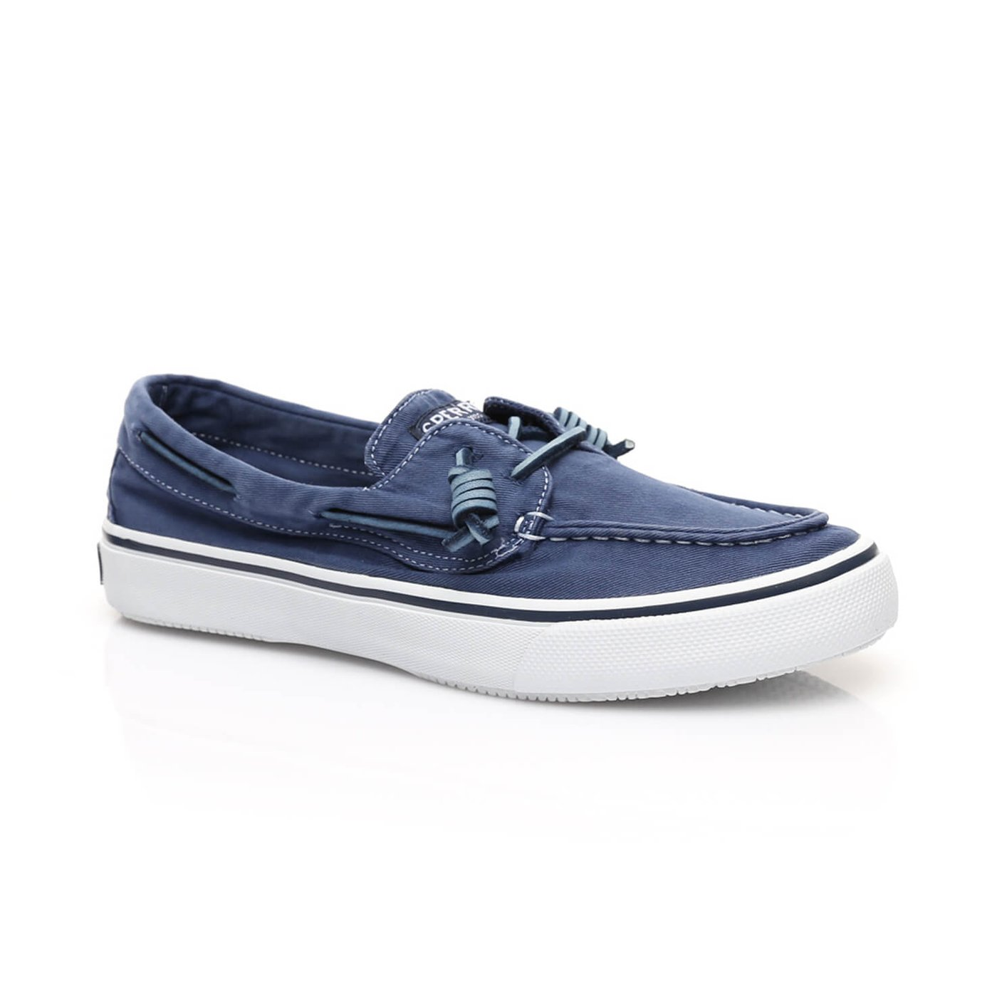 Sperry Bahama 2-Eye Washed Erkek Lacivert Sneaker