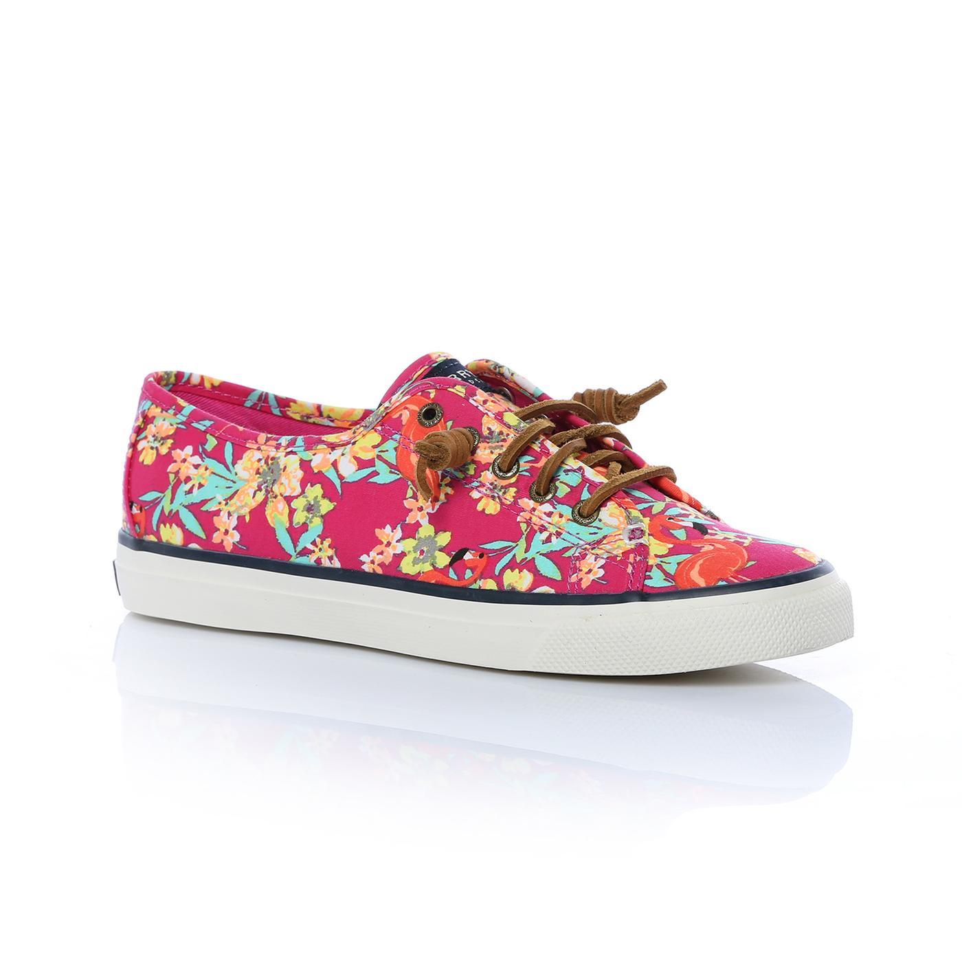 Sperry Seacoast Prınts Kadın Renkli Sneaker