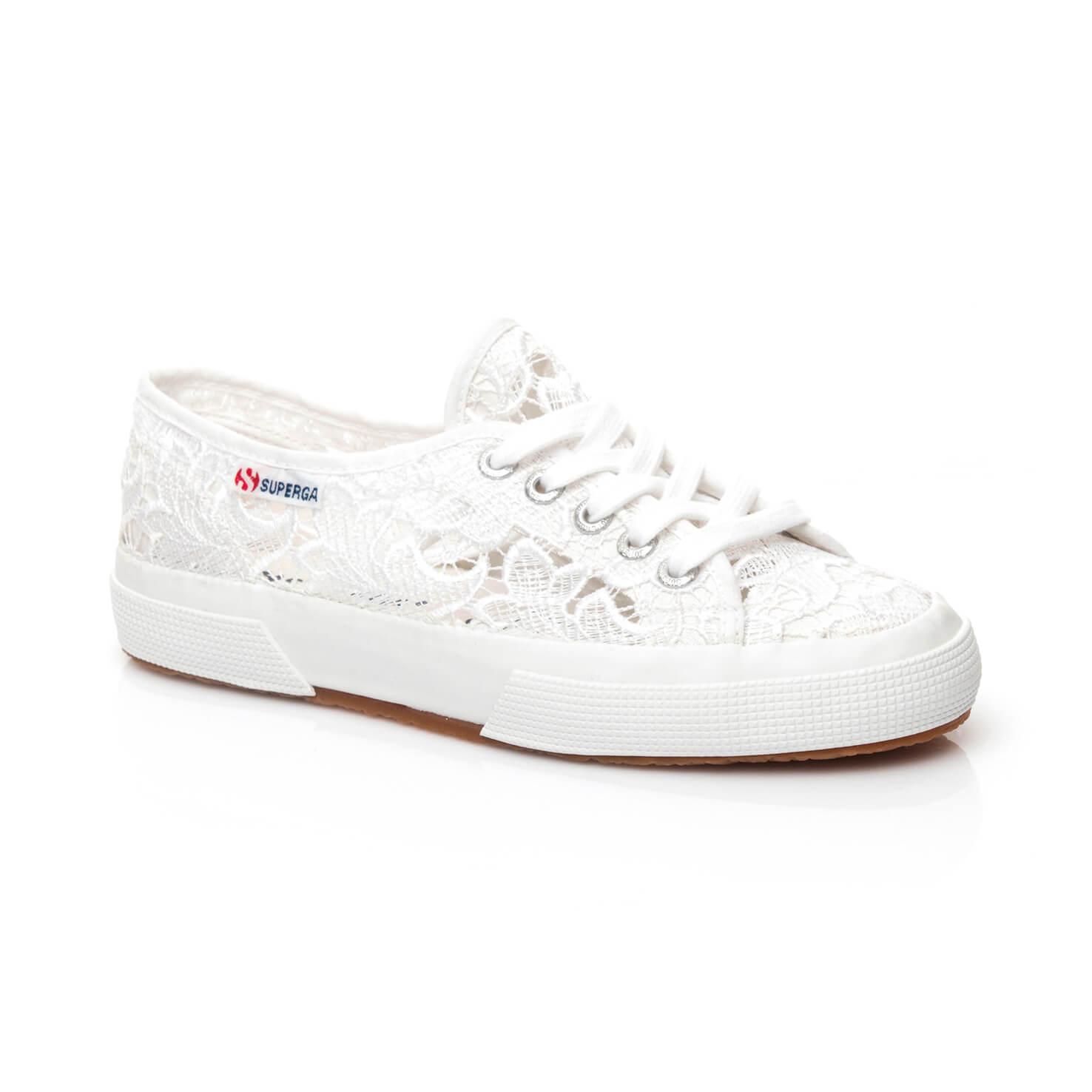 Superga 2750 Macramew Kadın Beyaz Sneaker