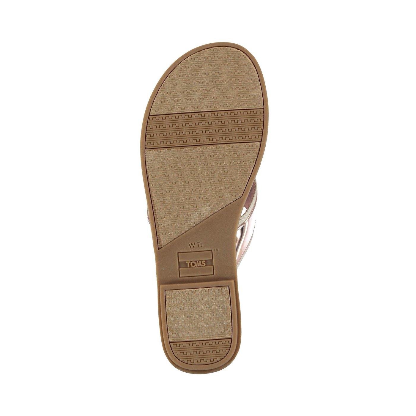 Toms Viv Kadın Altın Sandalet