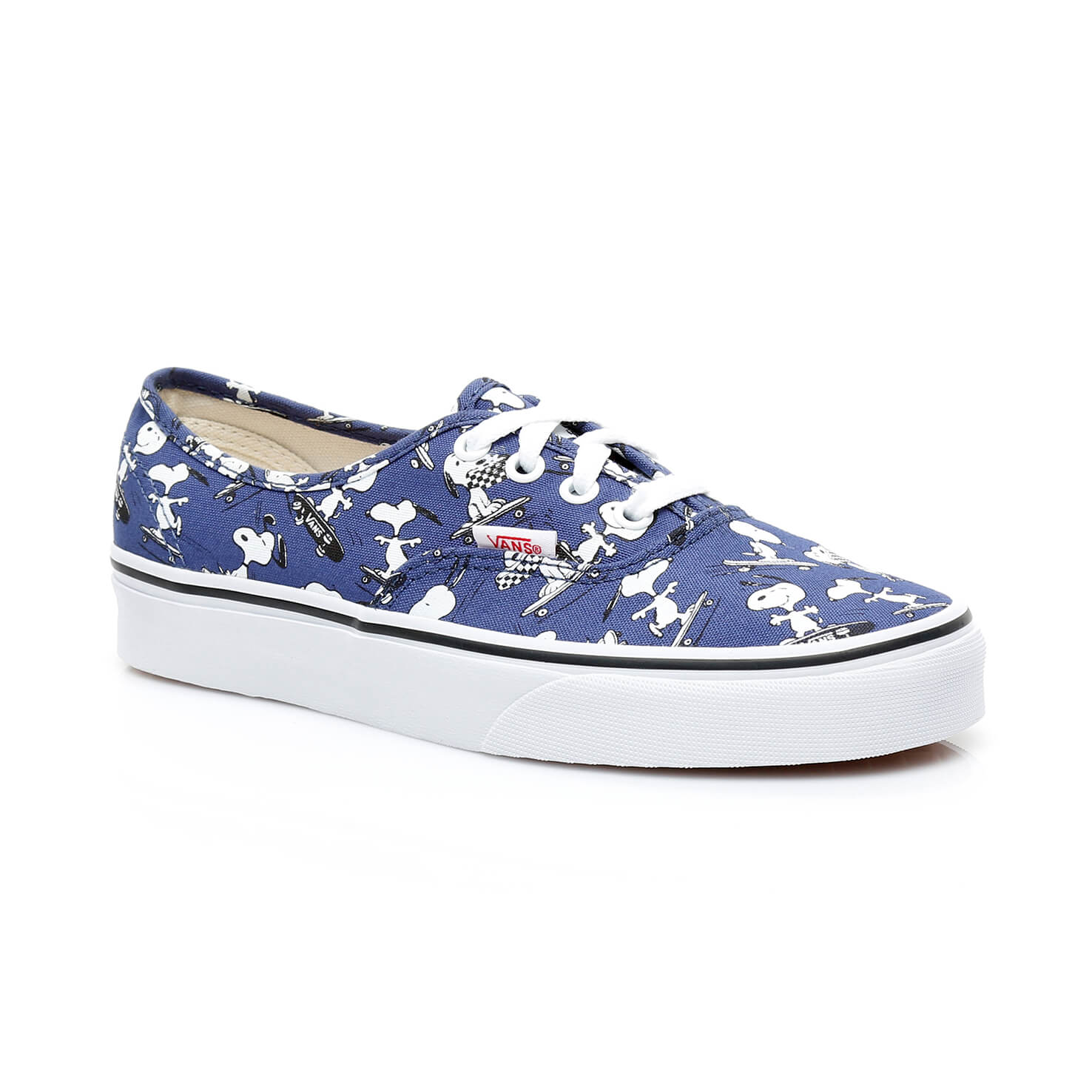 Vans Peanuts Ua Authentic Kadın Mavi Sneaker