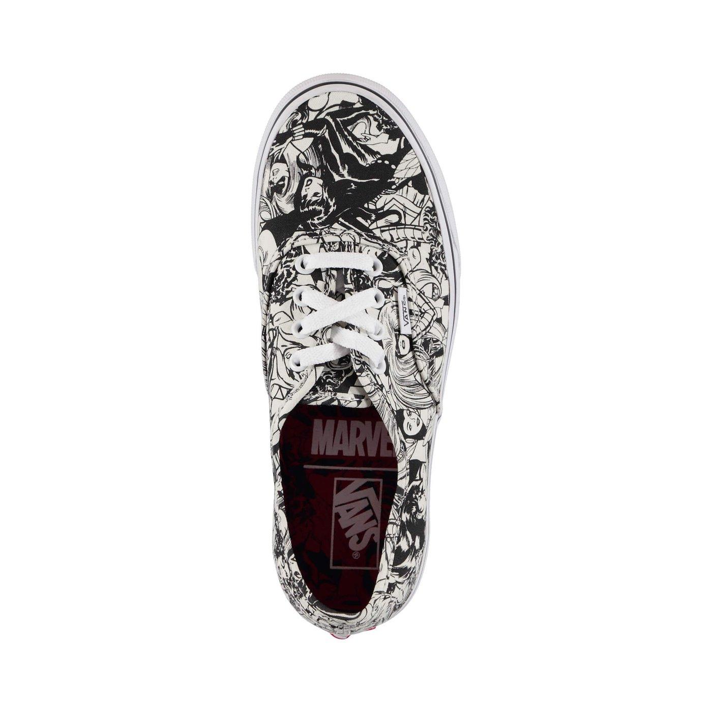Vans x Marvel Avengers Ua Authentic Kadın Siyah Sneaker