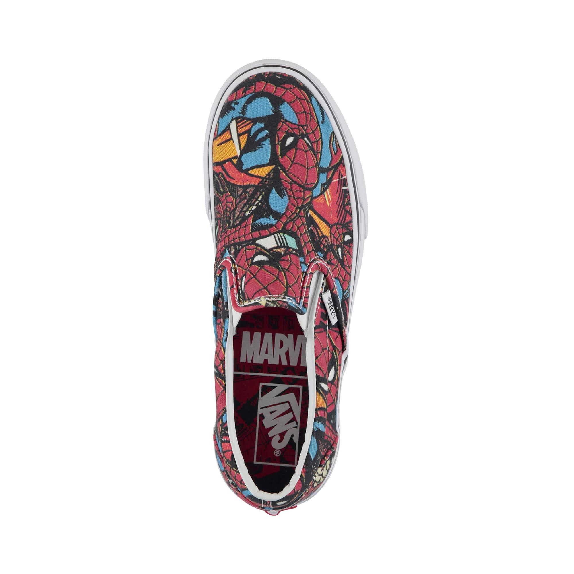 Vans x Marvel Spiderman Ua Classic Erkek Renkli Slip on