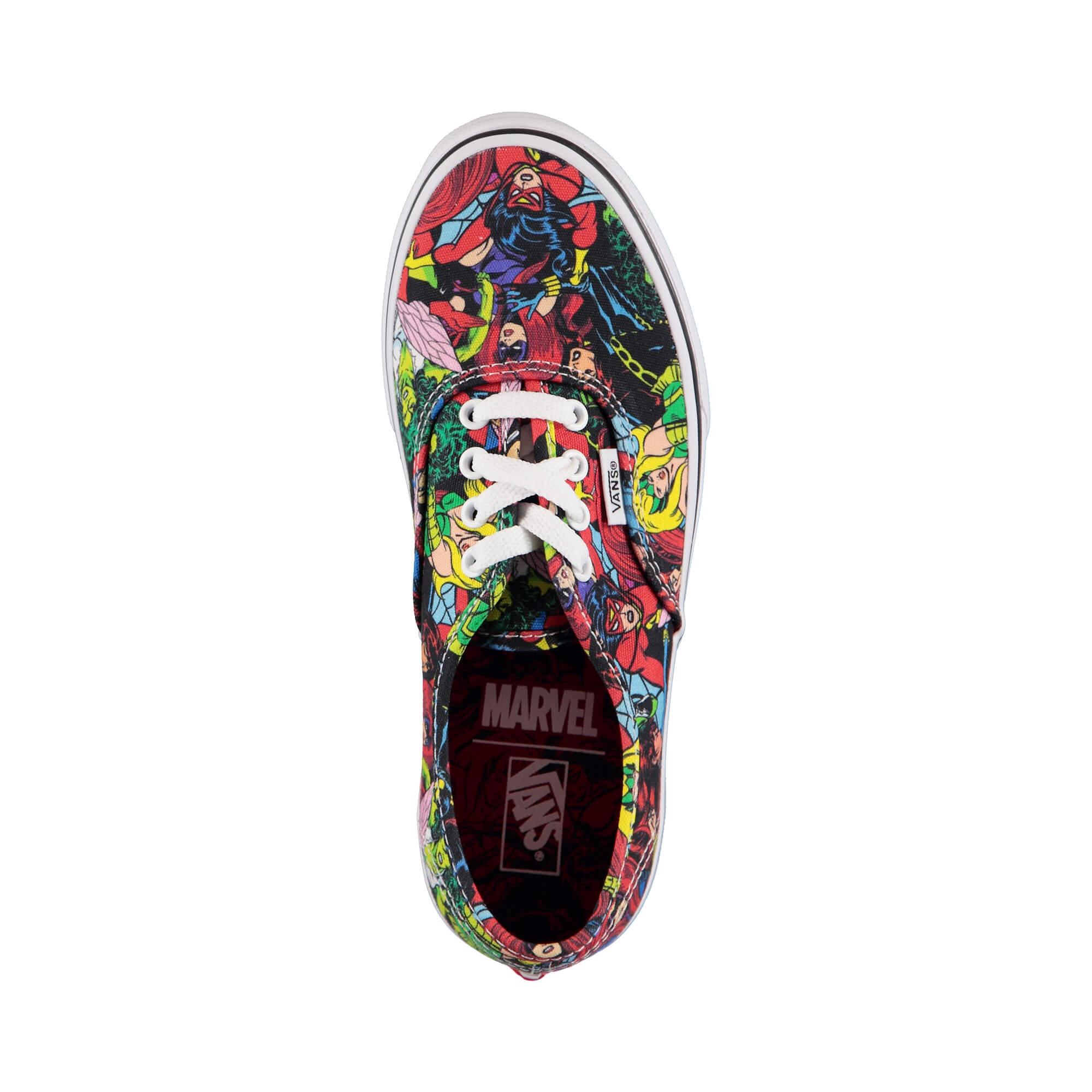 Vans x Marvel Avengers Authentic Çocuk Renkli Sneaker