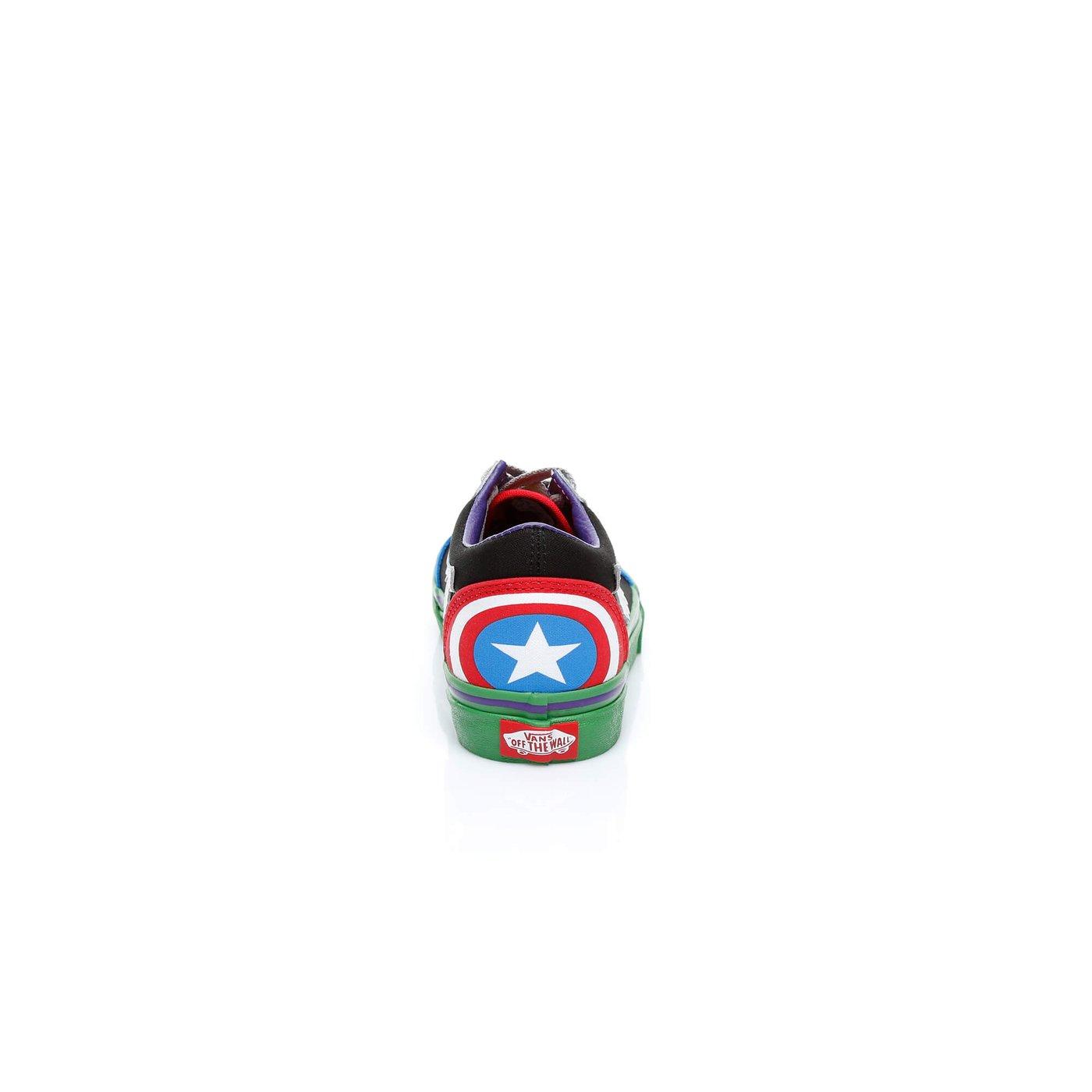 Vans x Marvel Avengers Old Skool Çocuk Renkli Sneaker