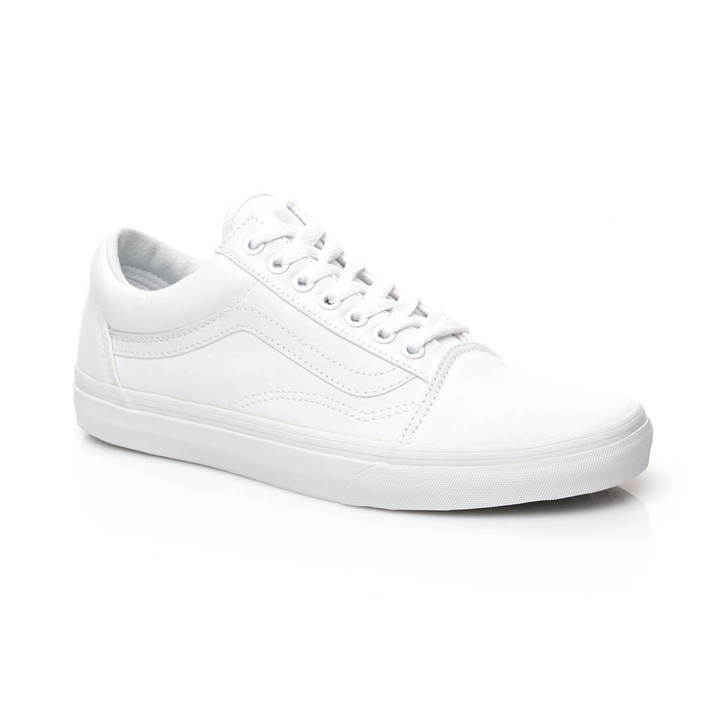 9b3f489ea5336e Vans Ua Old Skool Unisex Beyaz Sneaker Kadin Sneaker 3150198