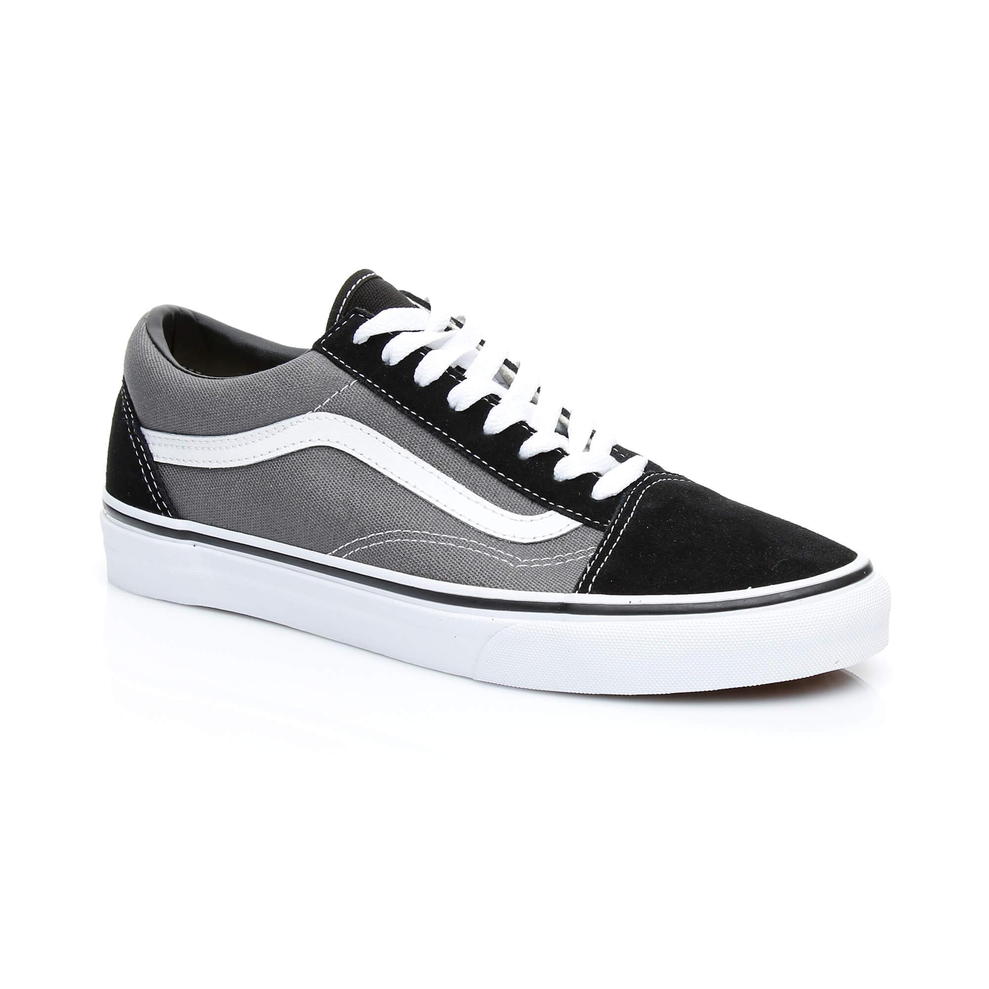 Vans Old Skool Erkek Gri Sneaker