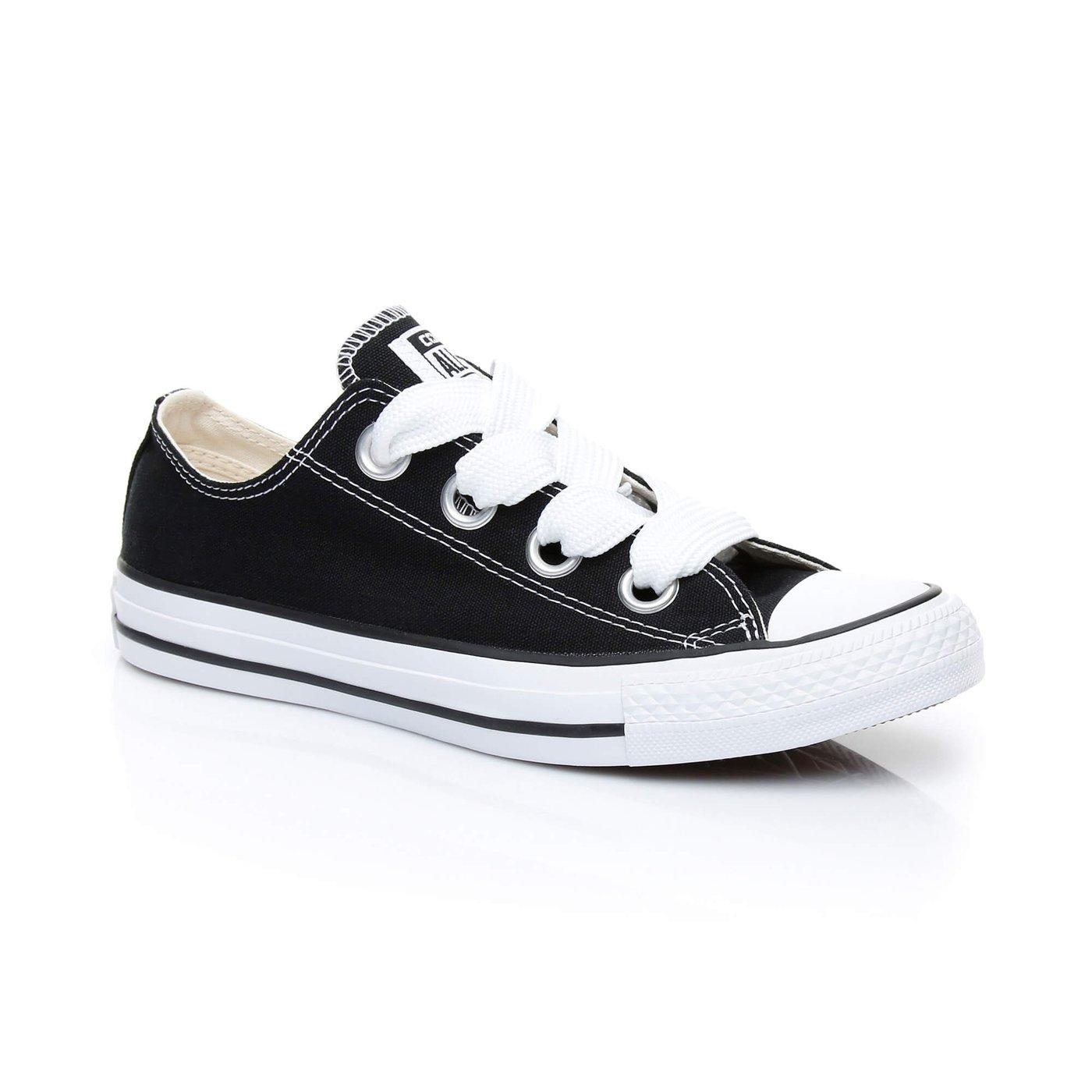 Converse Chuck Taylor All Star Big Eyelets Kadın Siyah Sneaker