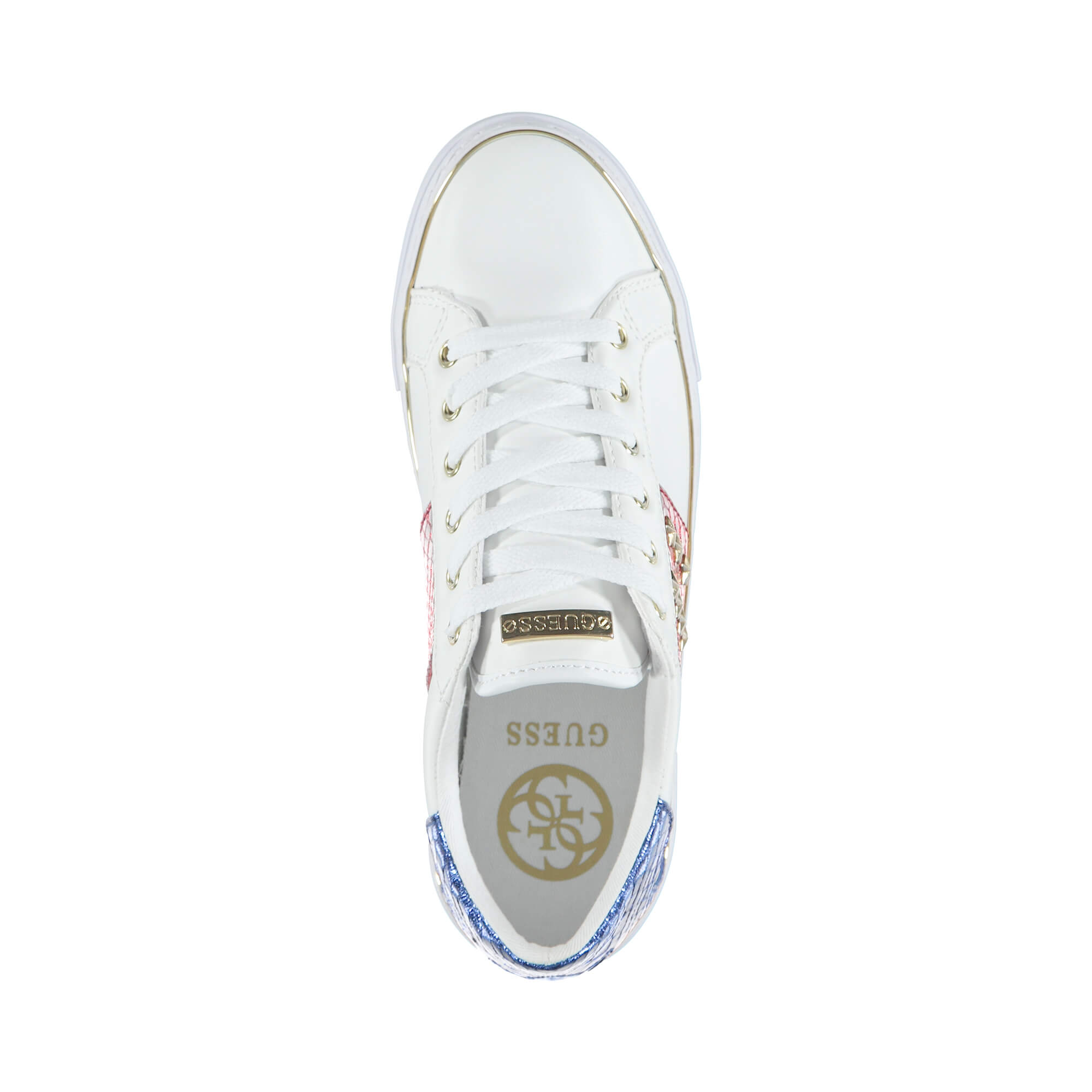 Guess Gamer Kadın Beyaz Sneakers