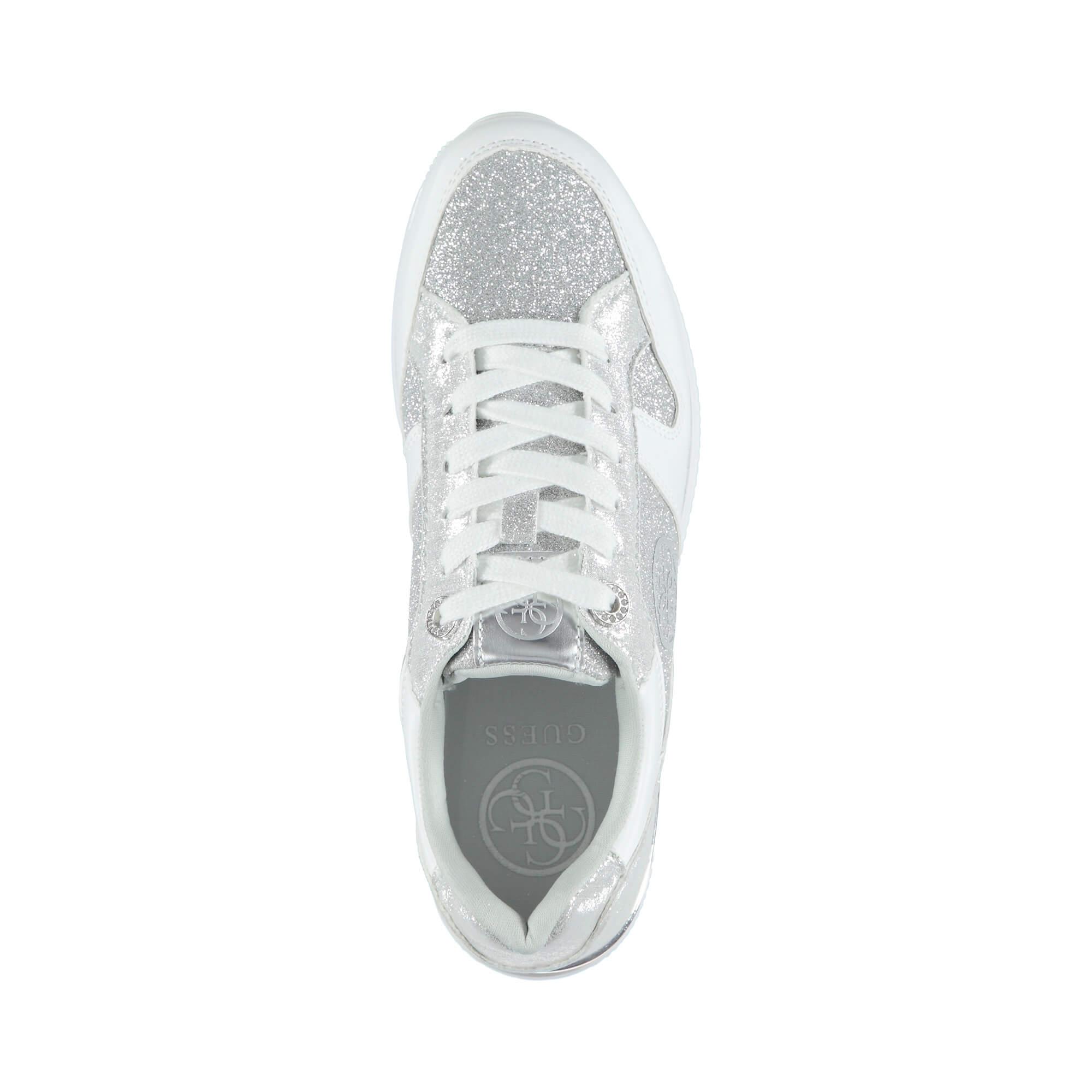 Guess Dameon Kadın Gümüş Sneaker