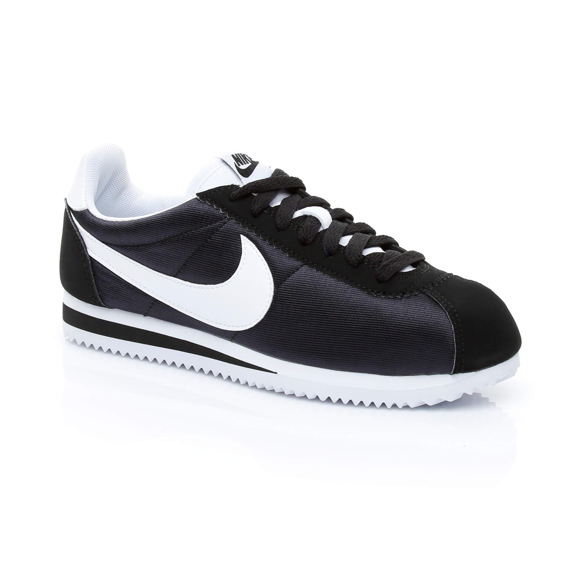 Nike Classic Cortez Nylon Kadın Siyah Sneaker
