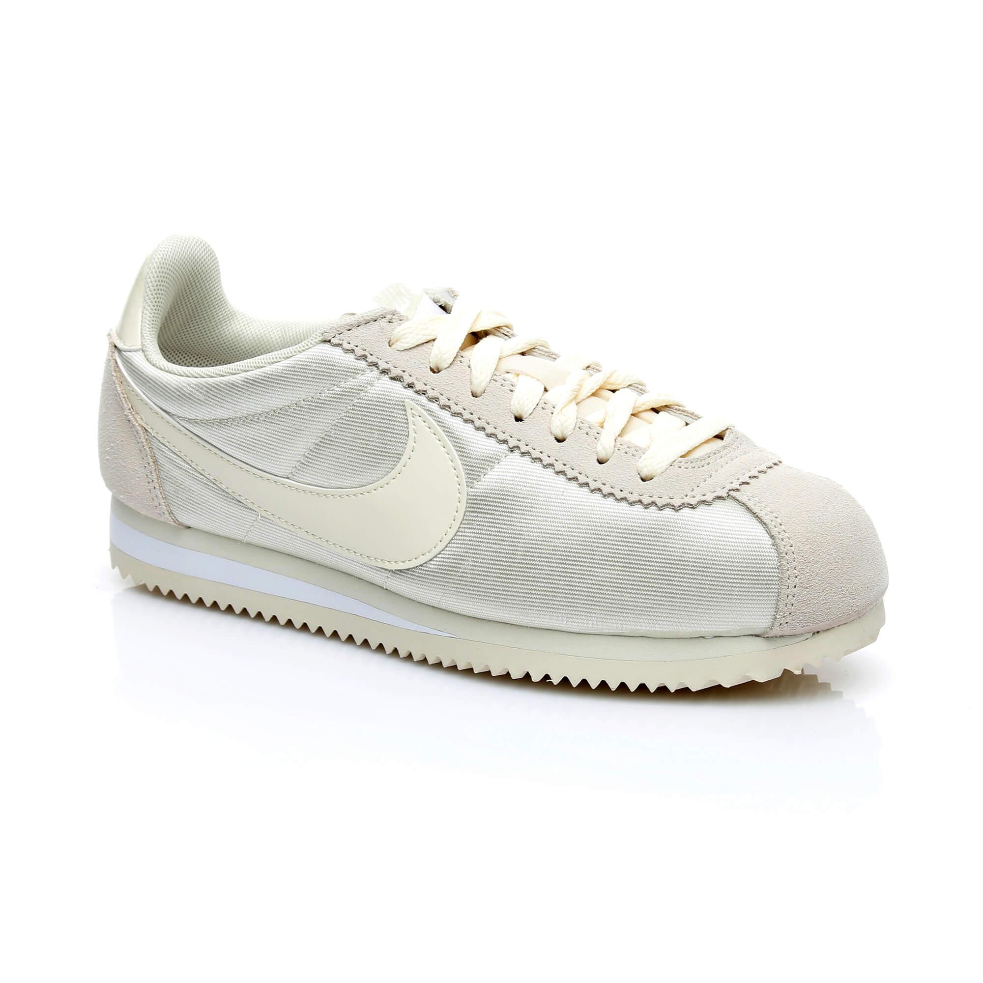 Nike Classic Cortez Kadın Krem Sneaker