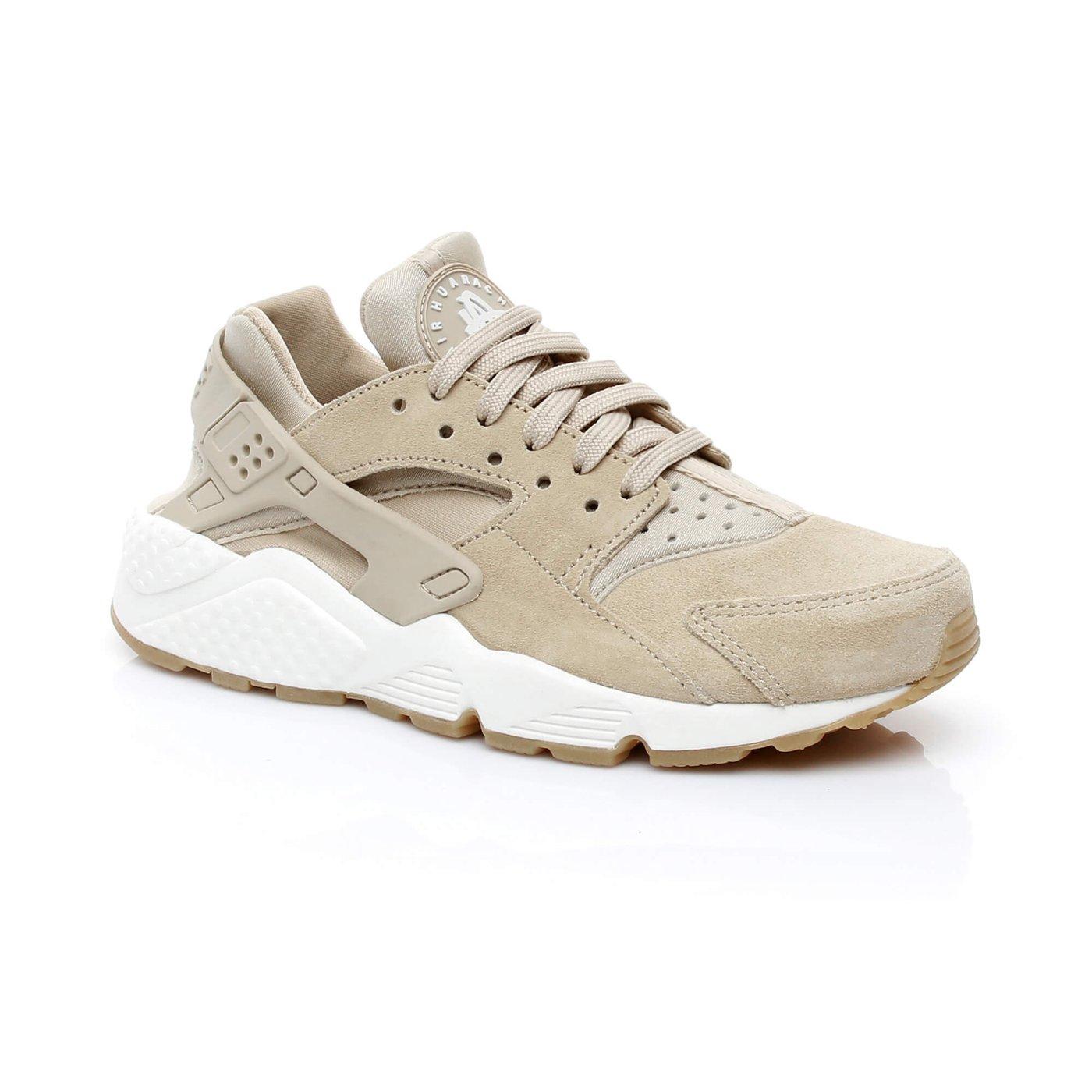 Nike Air Huarache Run SD Kadın Bej Sneaker