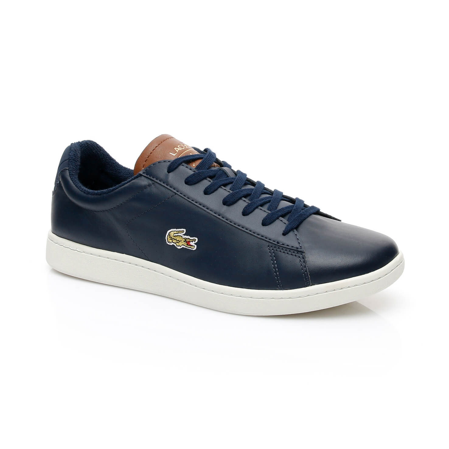 Lacoste Carnaby Evo Erkek Lacivert Sneaker
