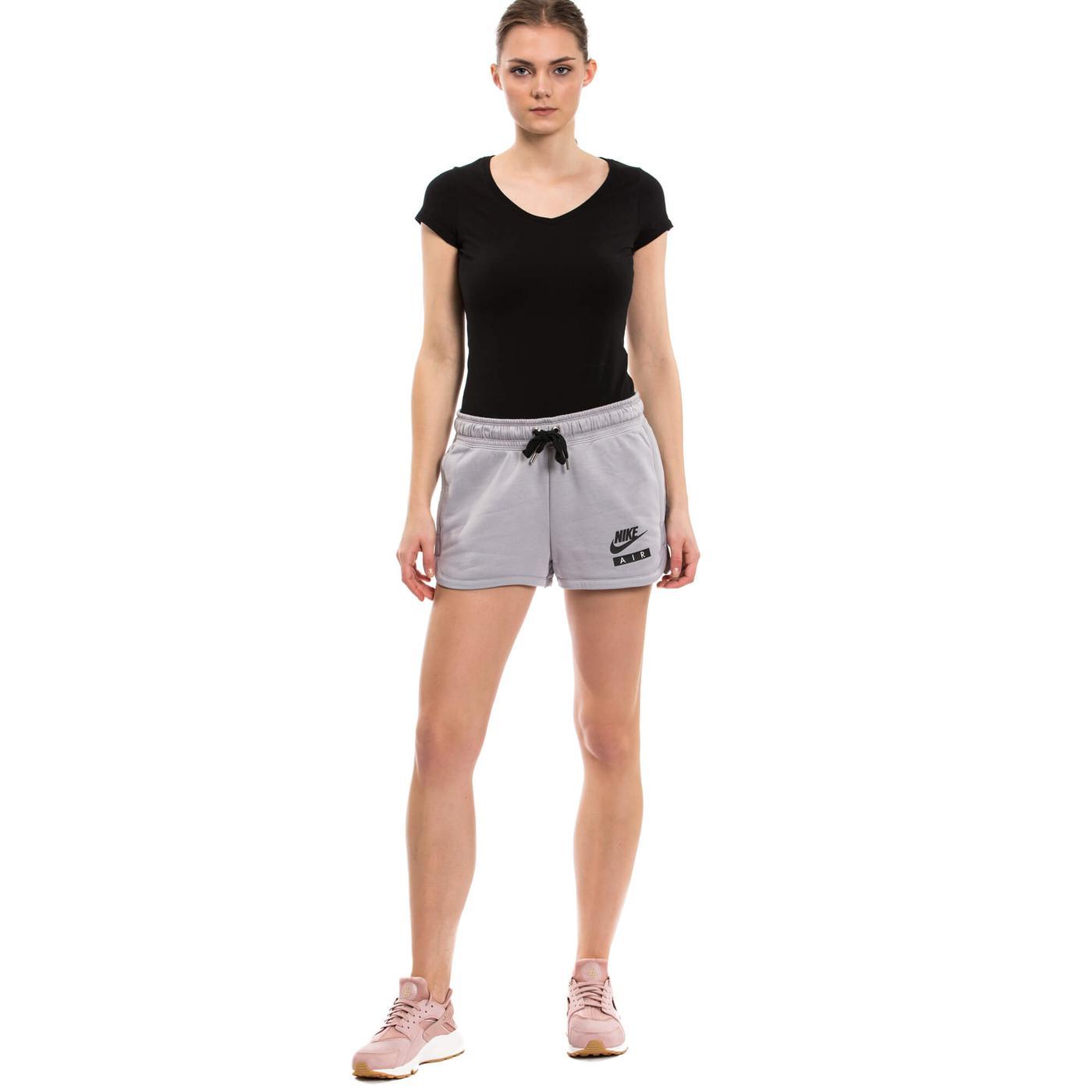 Nike Nsw Short Ft Air Kadın Siyah Şort