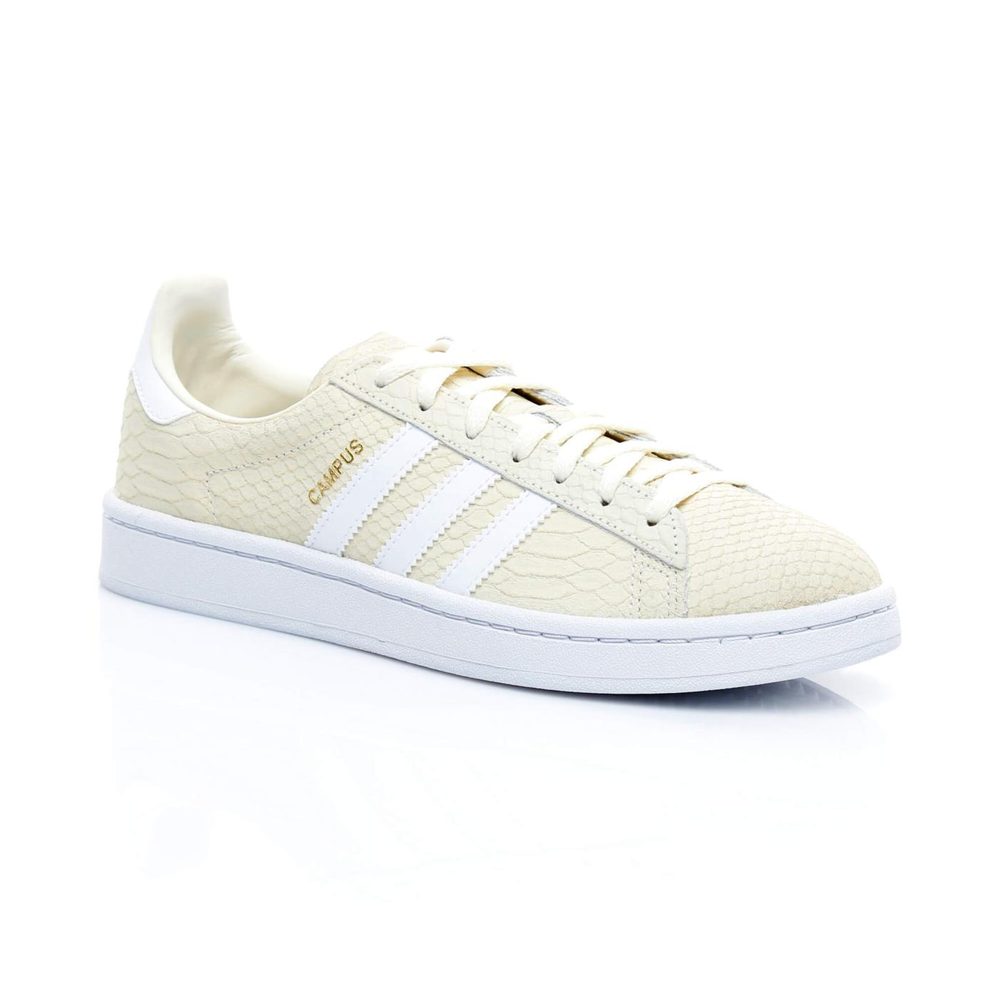 adidas Campus Kadın Krem Sneaker