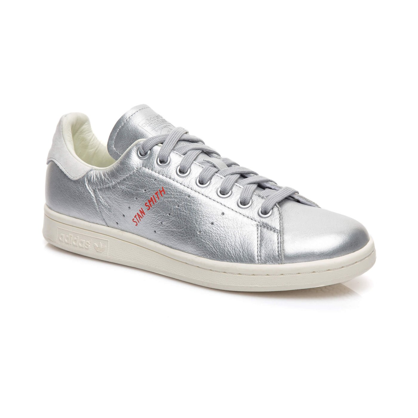adidas Stan Smith Kadın Gümüş Sneaker