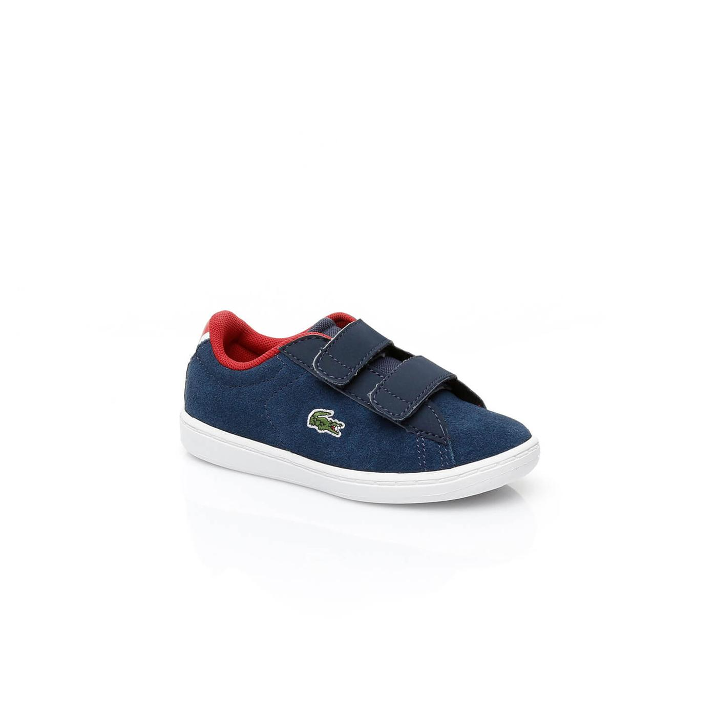 Lacoste Carnaby Evo Çocuk Lacivert Sneaker