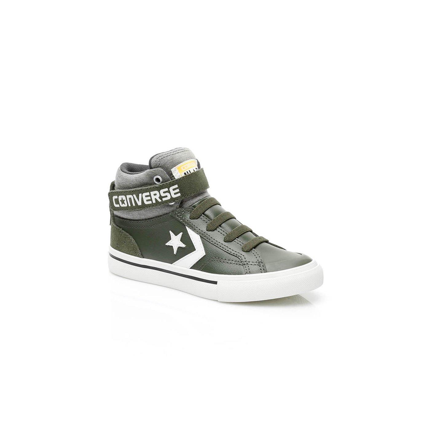 Converse Pro Blaze Strap Stretch Çocuk Yeşil Sneaker