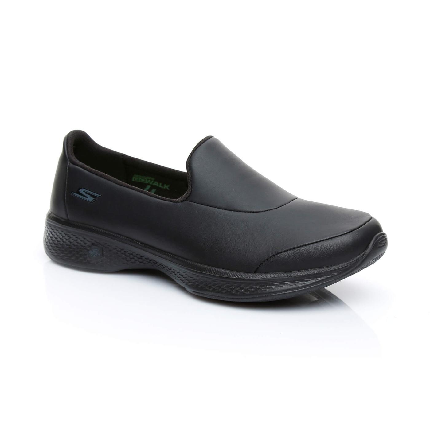Skechers Go Walk 4 Ascend Kadın Siyah Sneaker